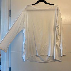 Lululemon White Long-sleeve